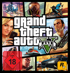 Grand Theft Auto 5 Cover Artwork